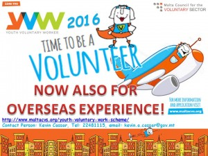 Poster for Young People YVWS  2016 Overseas